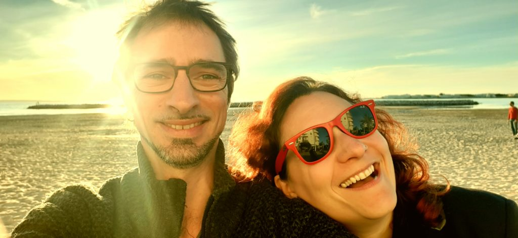 Olivier et Alexandra du camping de Cuisery